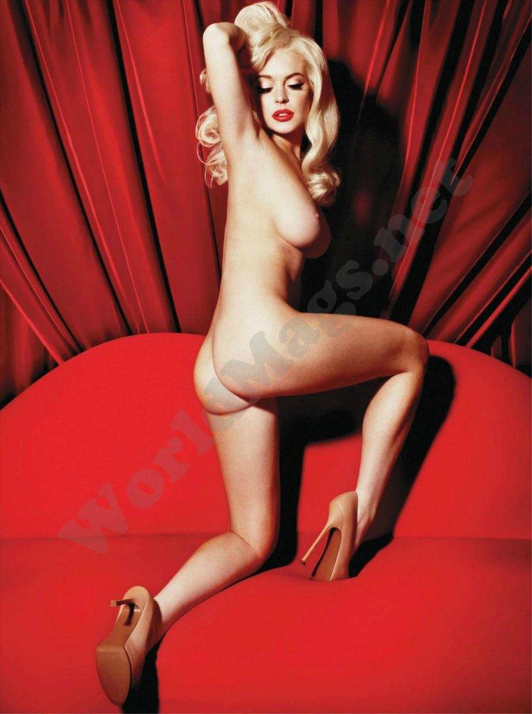Pics lohan nude lidsay